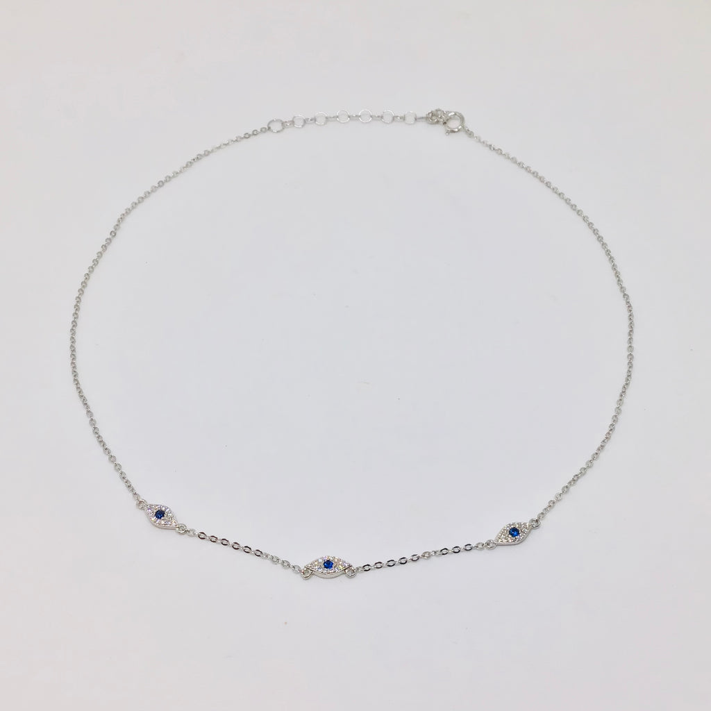NSC - Evil eye choker necklace
