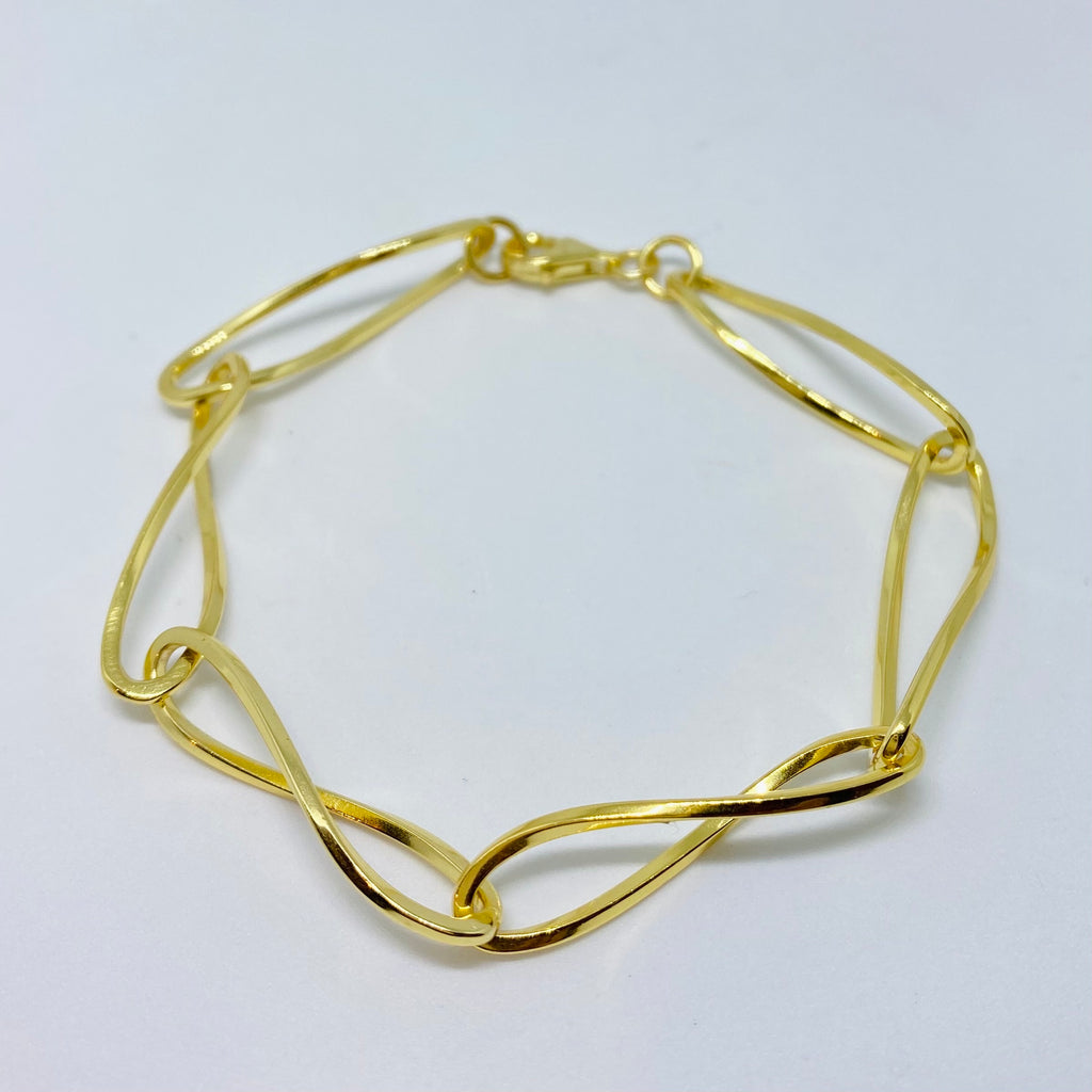 NSC - Twisted link chain bracelet