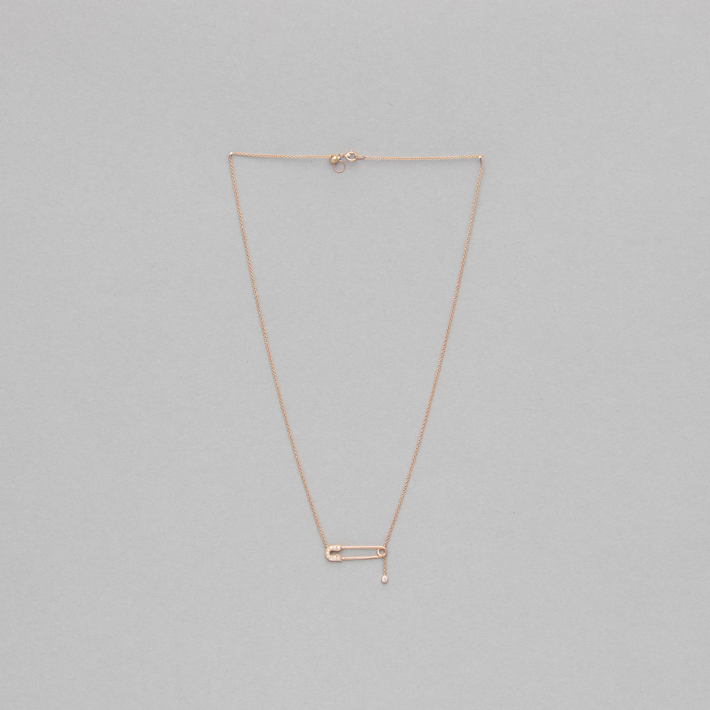 NFC - Safety pin necklace