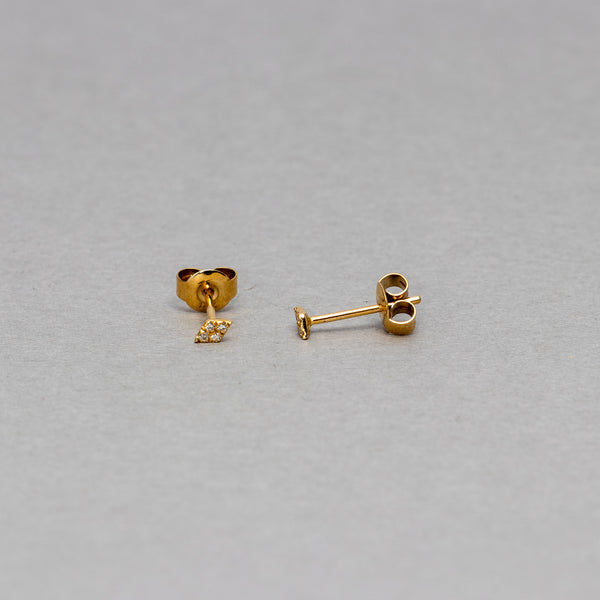 Liven - Petite kite stud earrings