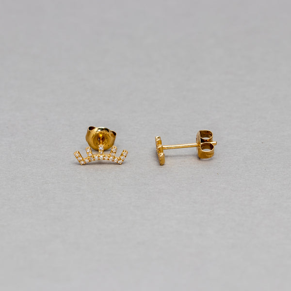 Liven - Eyelash stud earrings