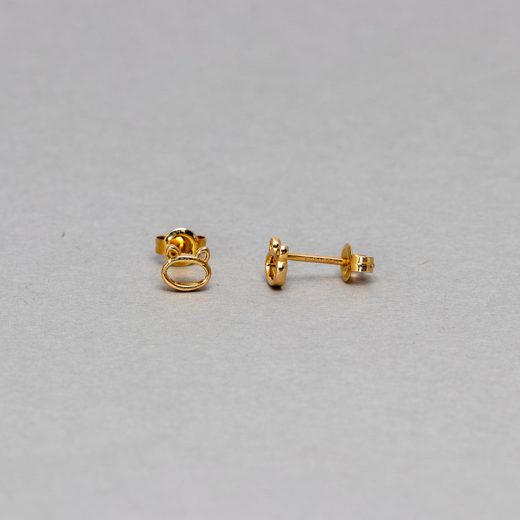 NFC - Cat stud earrings