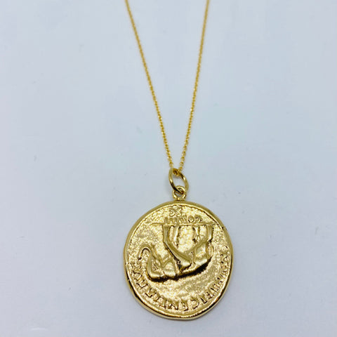 Antoninvs pivs avg coin necklace