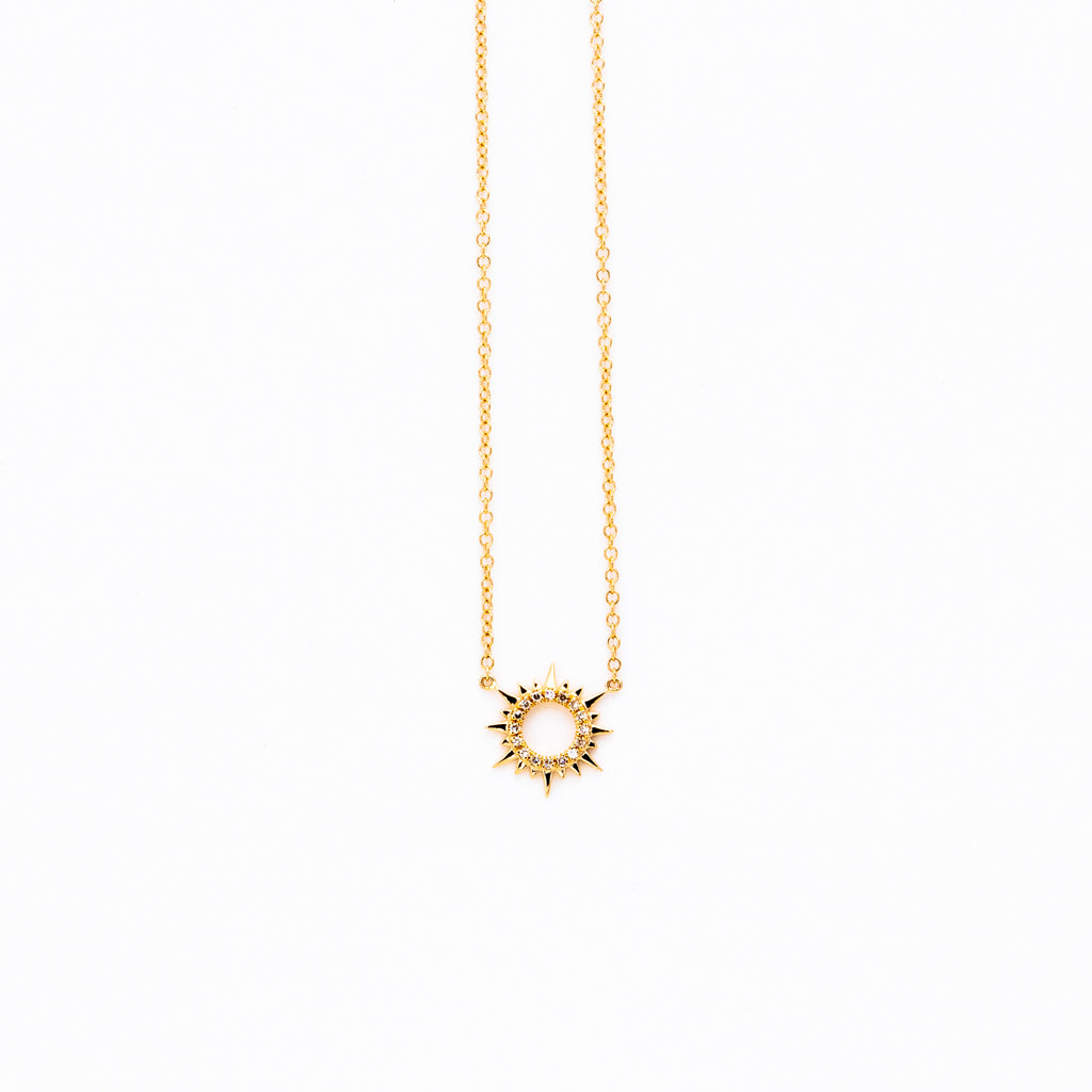 Liven - Small Sunburst necklace