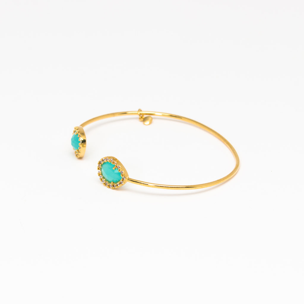Tai Jewelry - Double Mint Open Cuff