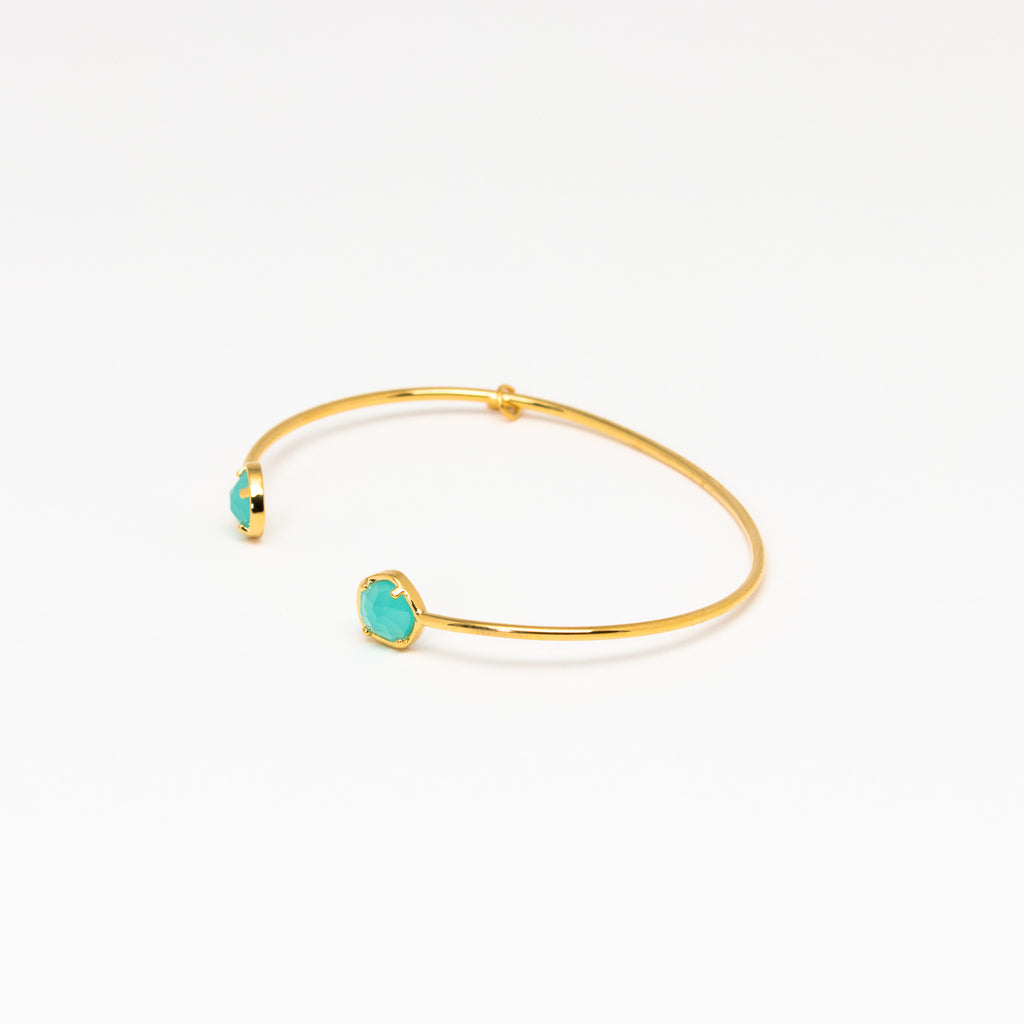 Tai Jewelry - Medium Mint Open Cuff