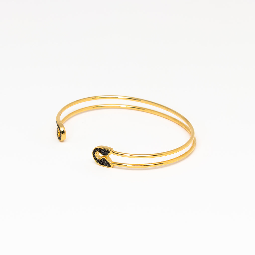 Tai Jewelry - Safety Pin Open Cuff