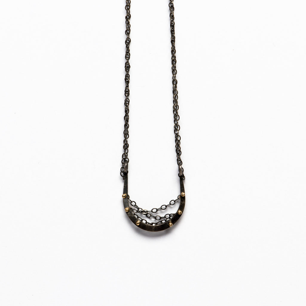 Melissa Joy Manning - Horseshoe Necklace