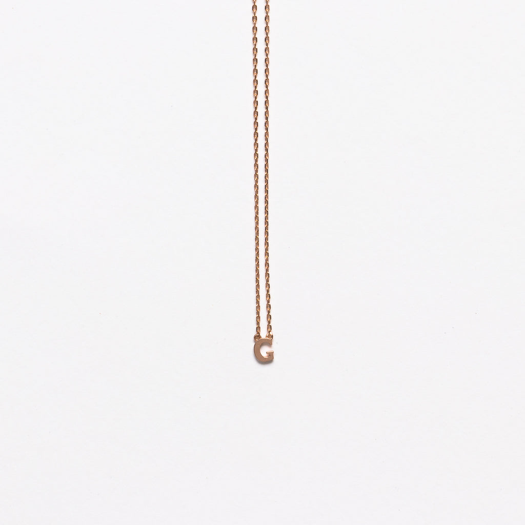 NFC - Mini Initial G Necklace