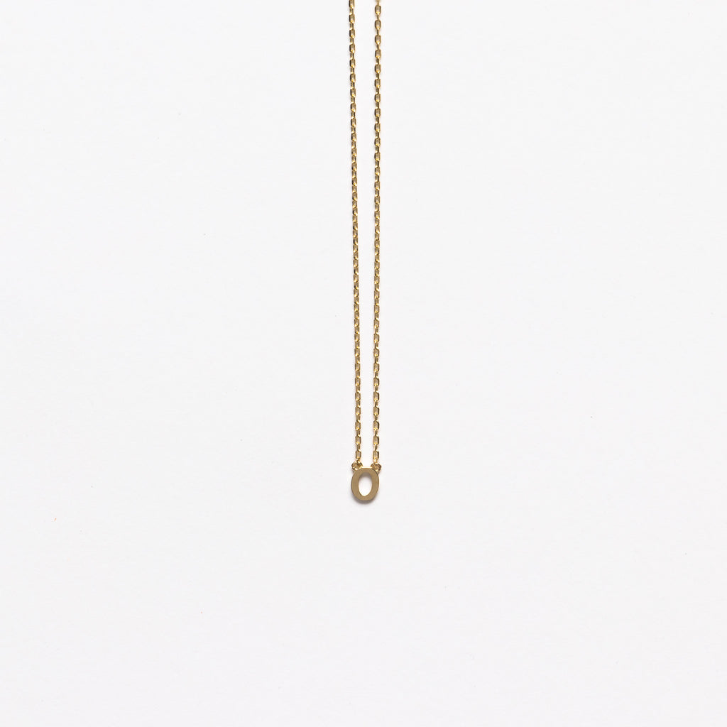 NFC - Mini Initial O Necklace