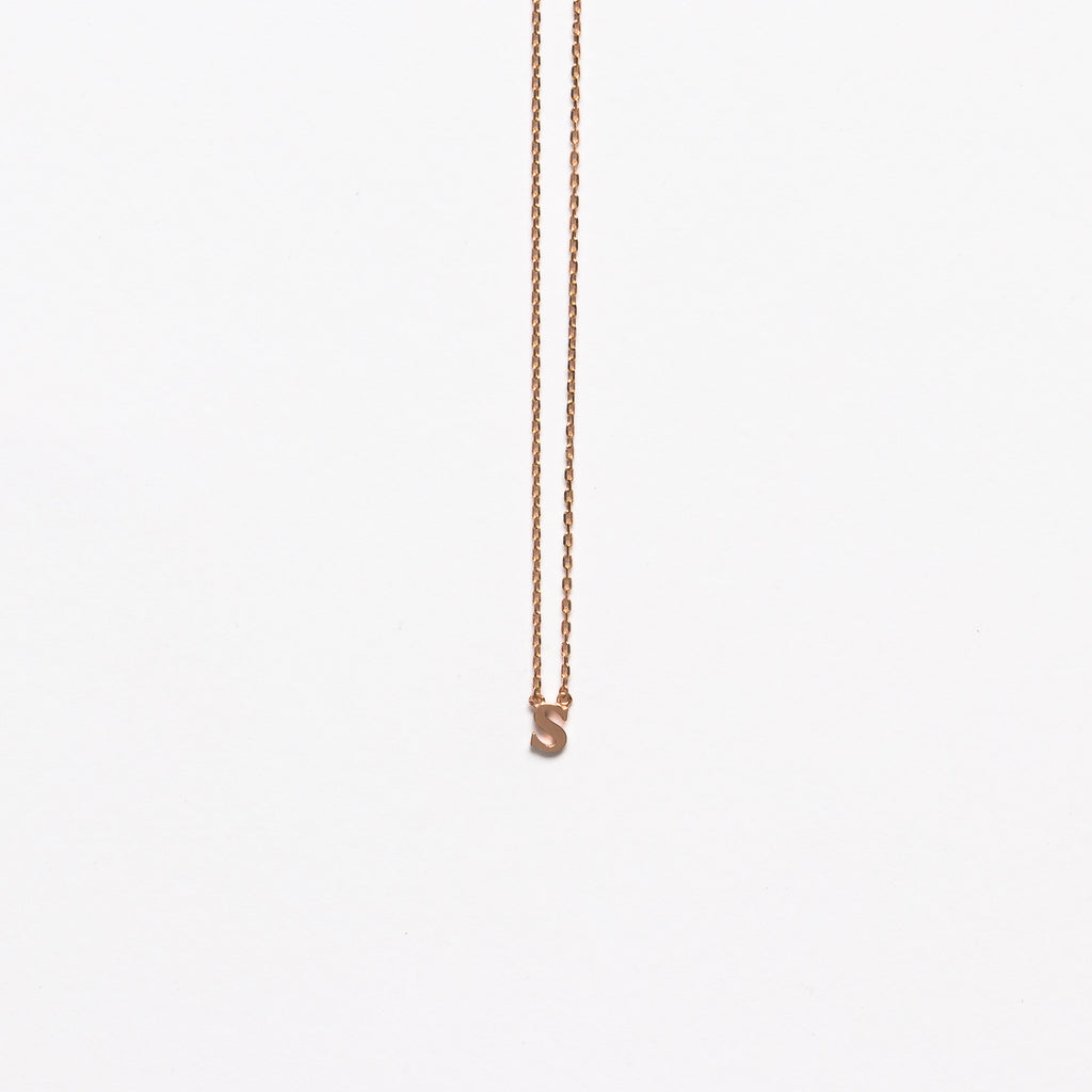 NFC - Mini Initial S Necklace