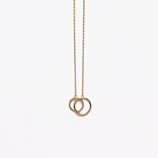 NFC - Duo necklace in yellow gold