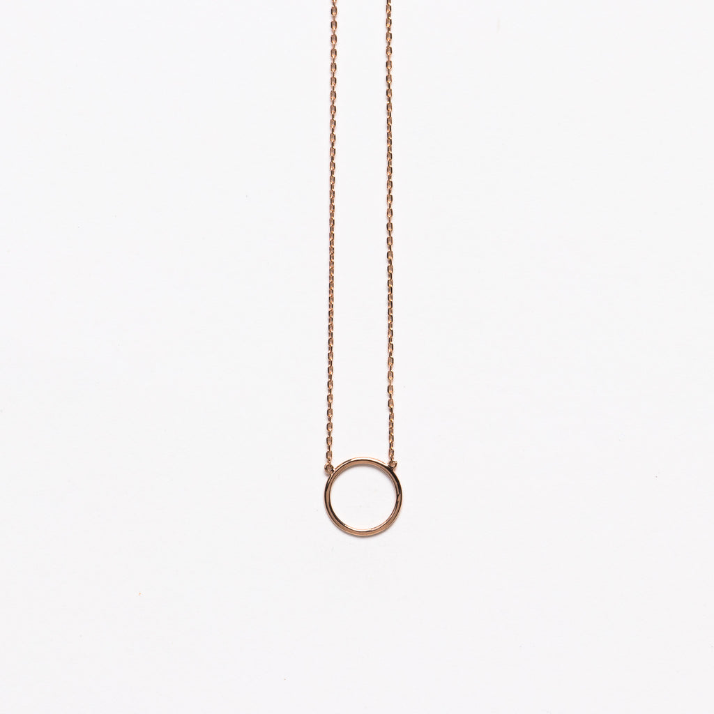 NFC - Sole necklace in rose gold
