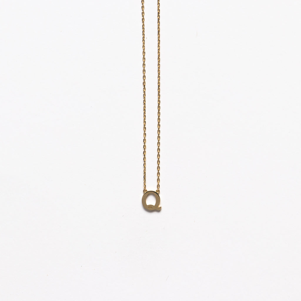 NFC - Small Q necklace