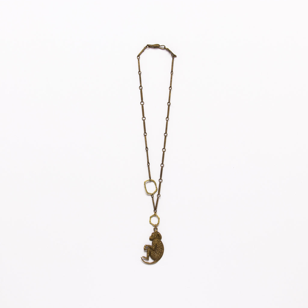 Alkemie Jewelry - Monkey necklace