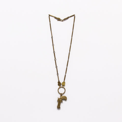 Alkemie Jewelry - Peace gun necklace