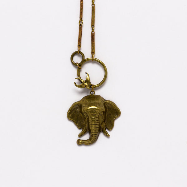 Alkemie Jewelry - Elephant necklace