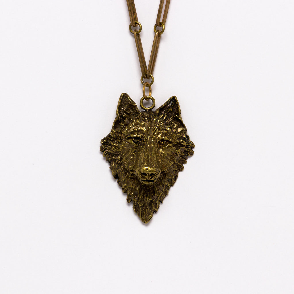 Alkemie Jewelry - Wolf necklace
