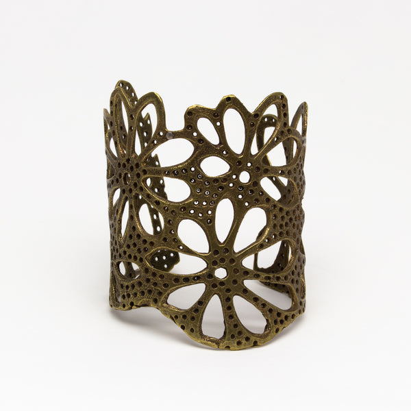 Alkemie Jewelry - Lotus root cuff