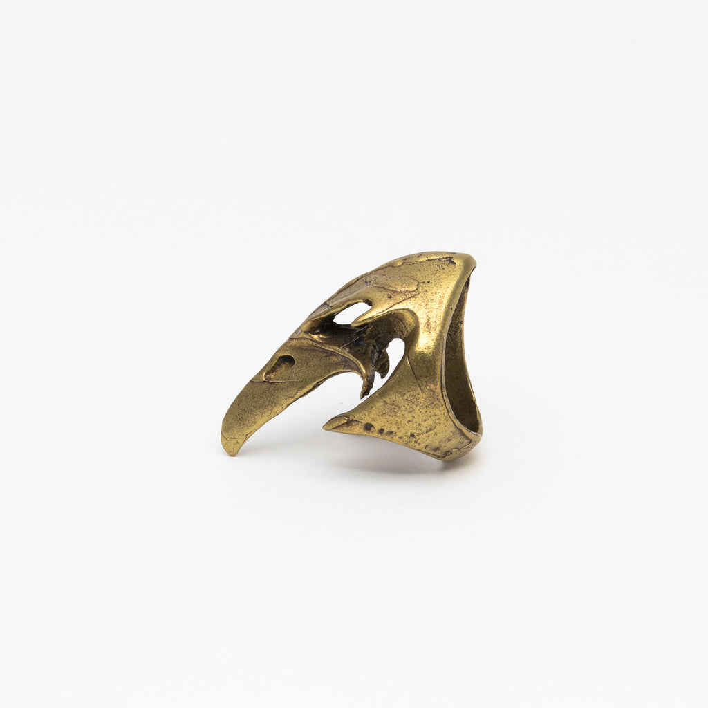 Alkemie Jewelry - Bird skull ring - Norbu
