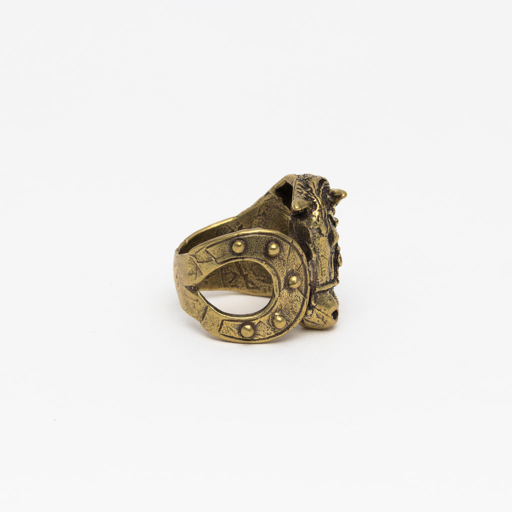 Alkemie Jewelry - Horse ring - Norbu