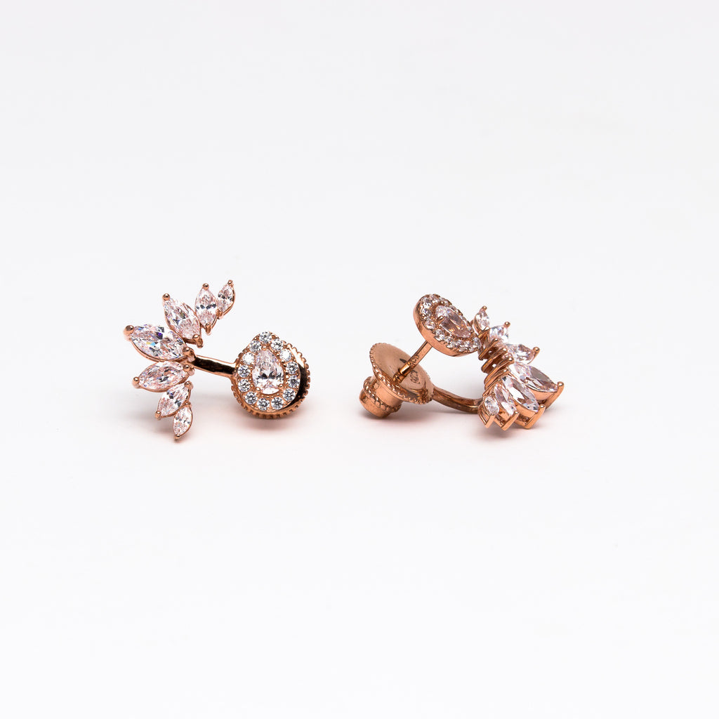 NSC - Marque ear jackets with teardrop stud