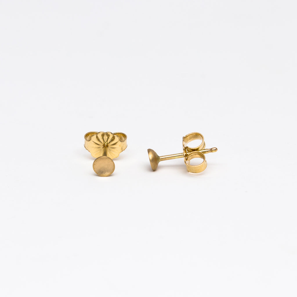 Carla Caruso - Small Polkadot Stud Earrings