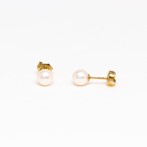 NFC - Fresh Water Pearl in Yellow Gold
