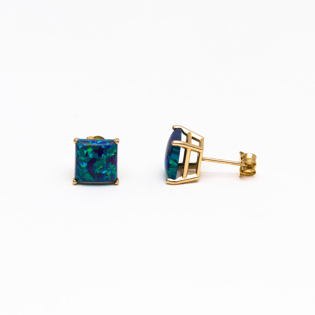 NFC - XL Opal stud earrings