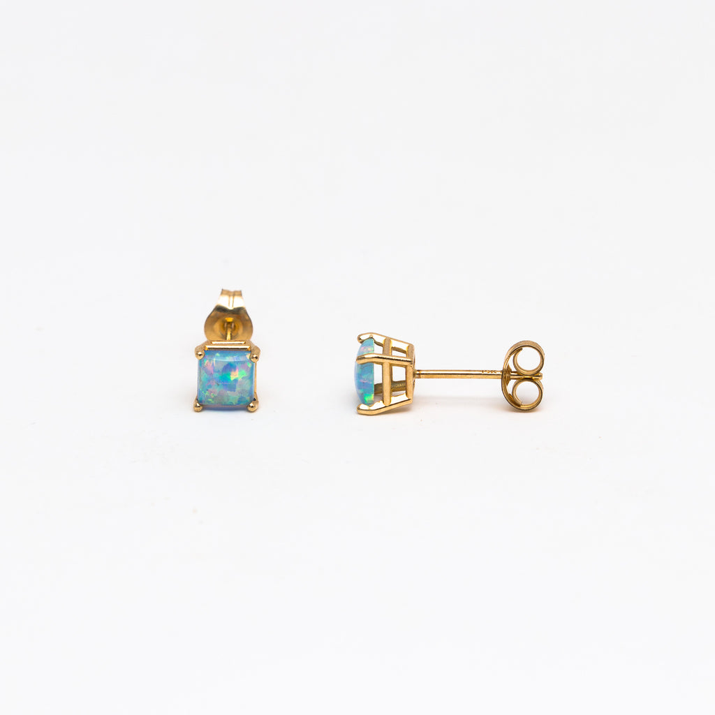 NFC - Small Opal Stud Earrings