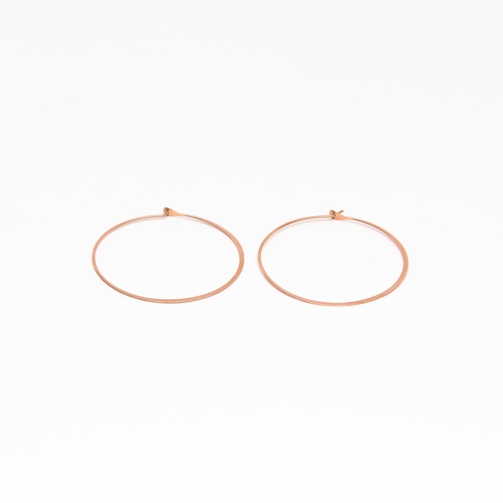 Melissa Joy Manning - XL classic round hoops
