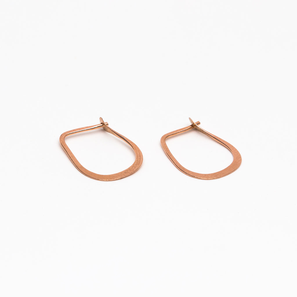 Melissa Joy Manning - Small teardrop hoops
