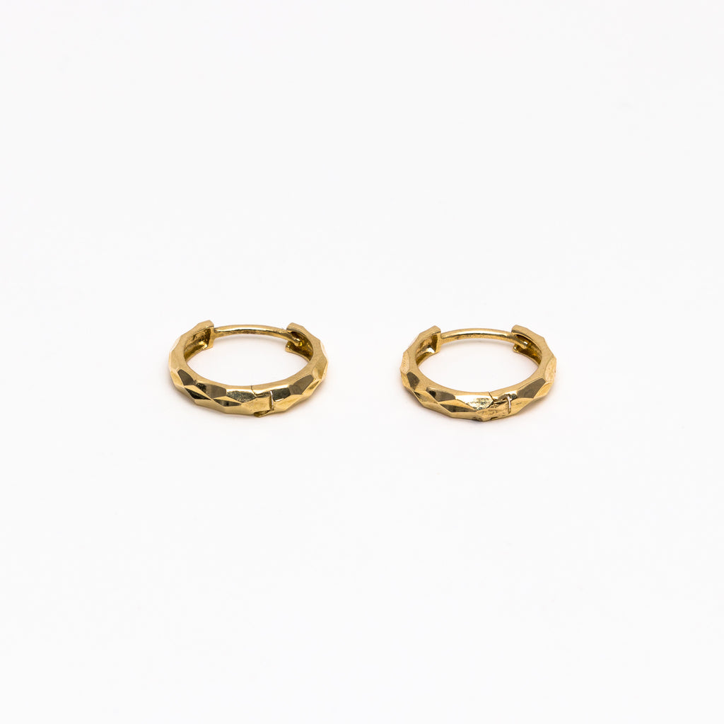 NFC - Diamond Cut Hoops