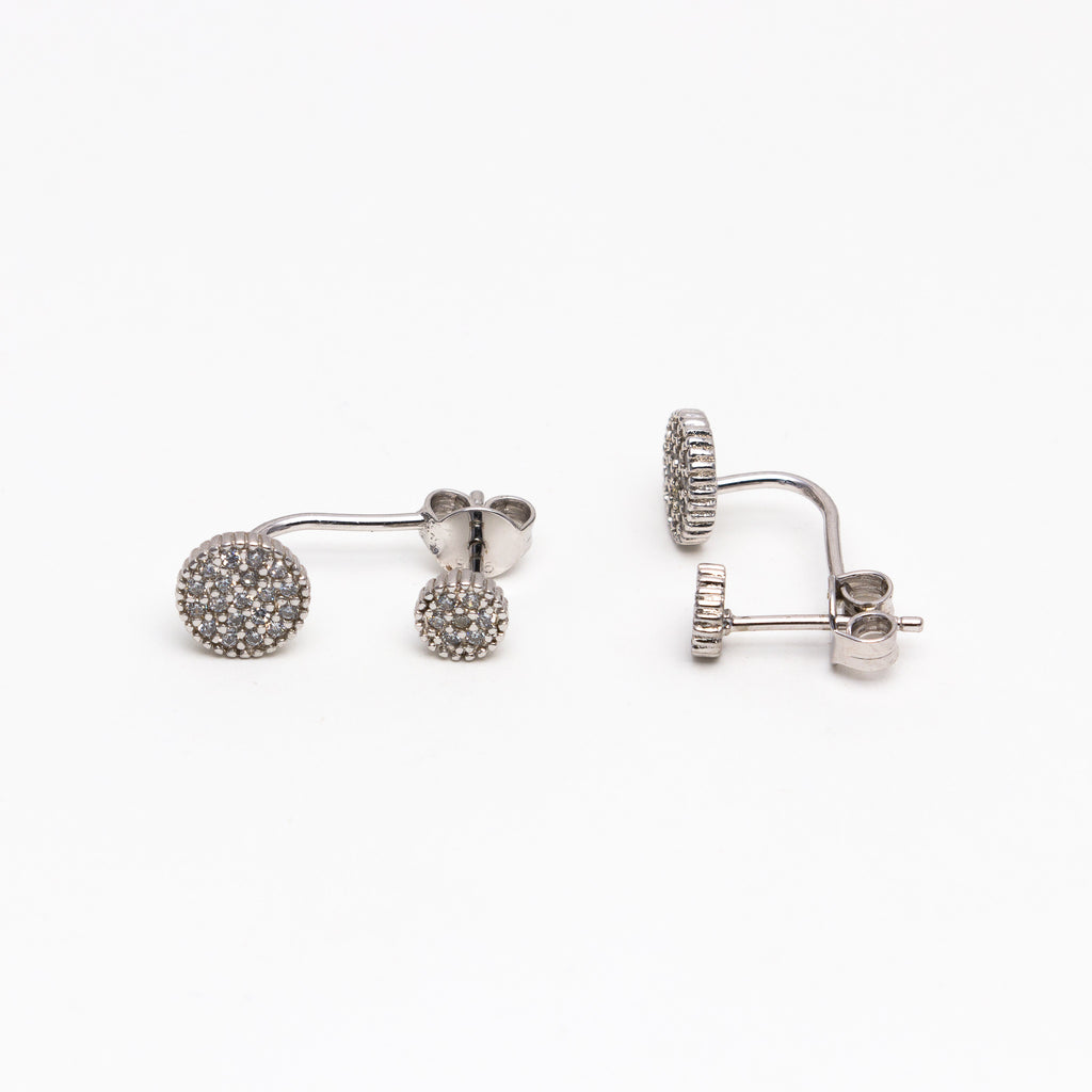 NSC - Round pave earjackets