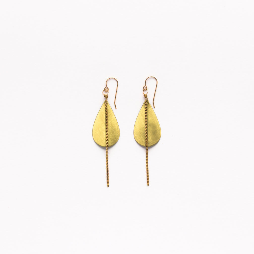 Cecilia Gonzales - Sukuma Gold Earrings