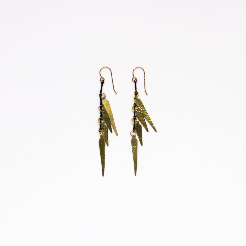 Cecilia Gonzales - Caral Gold Earrings