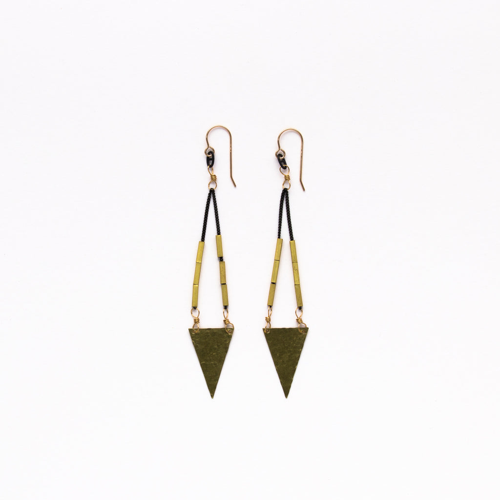 Cecilia Gonzales - Artemis Gold Earrings
