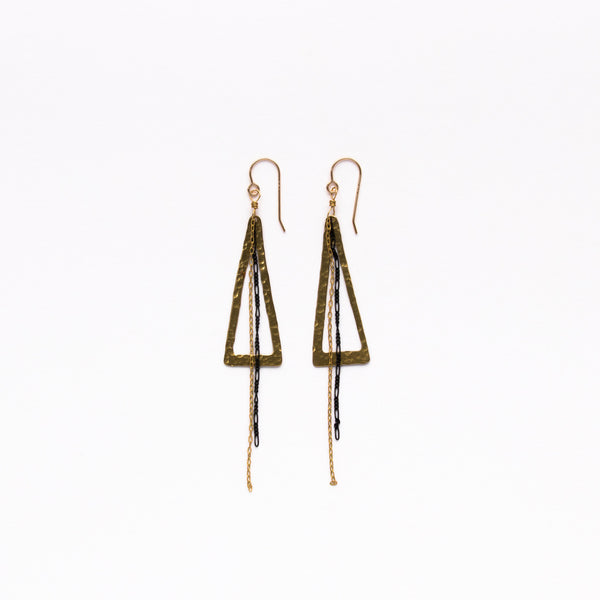 Cecilia Gonzales - Nikki Gold Earrings - Norbu