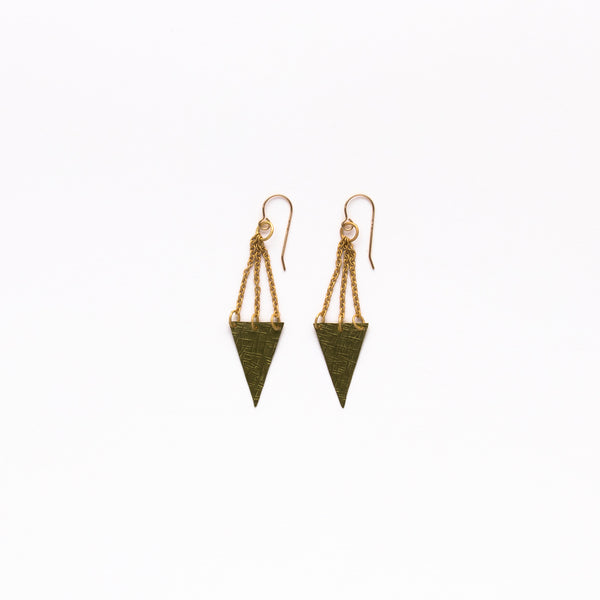 Cecilia Gonzales - Bell Gold Earrings
