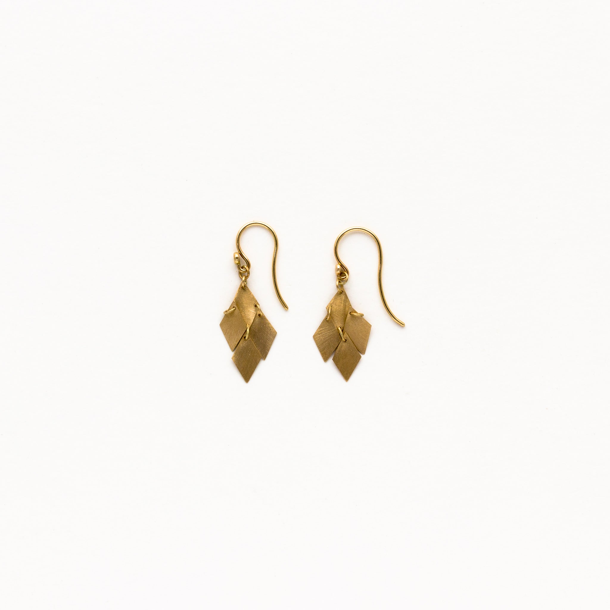 gold products jewels cluster white earrings ann lesley