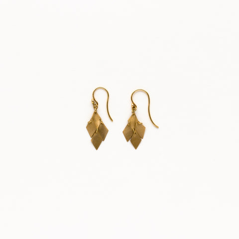 Carla Caruso -  Diamond Shaped Cluster Earrings