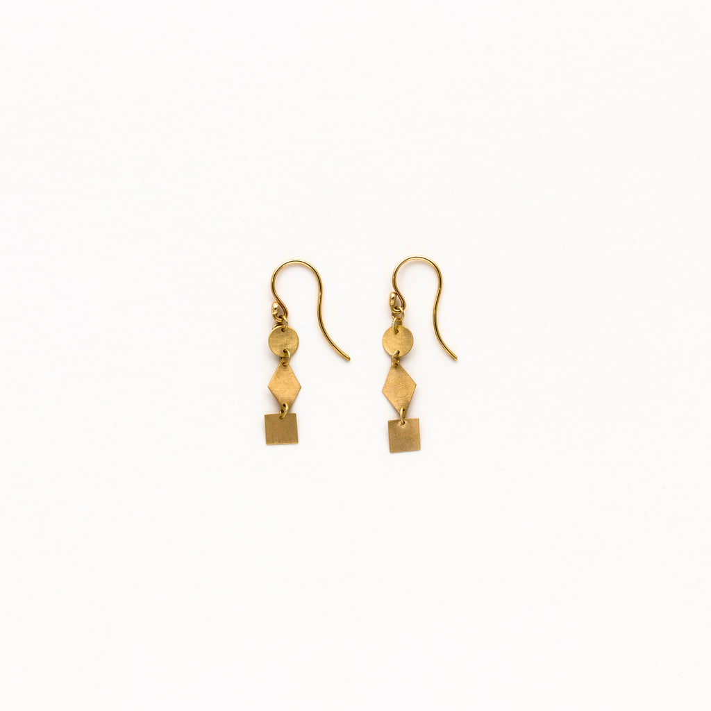 Carla Caruso - Shapes Drop Earrings