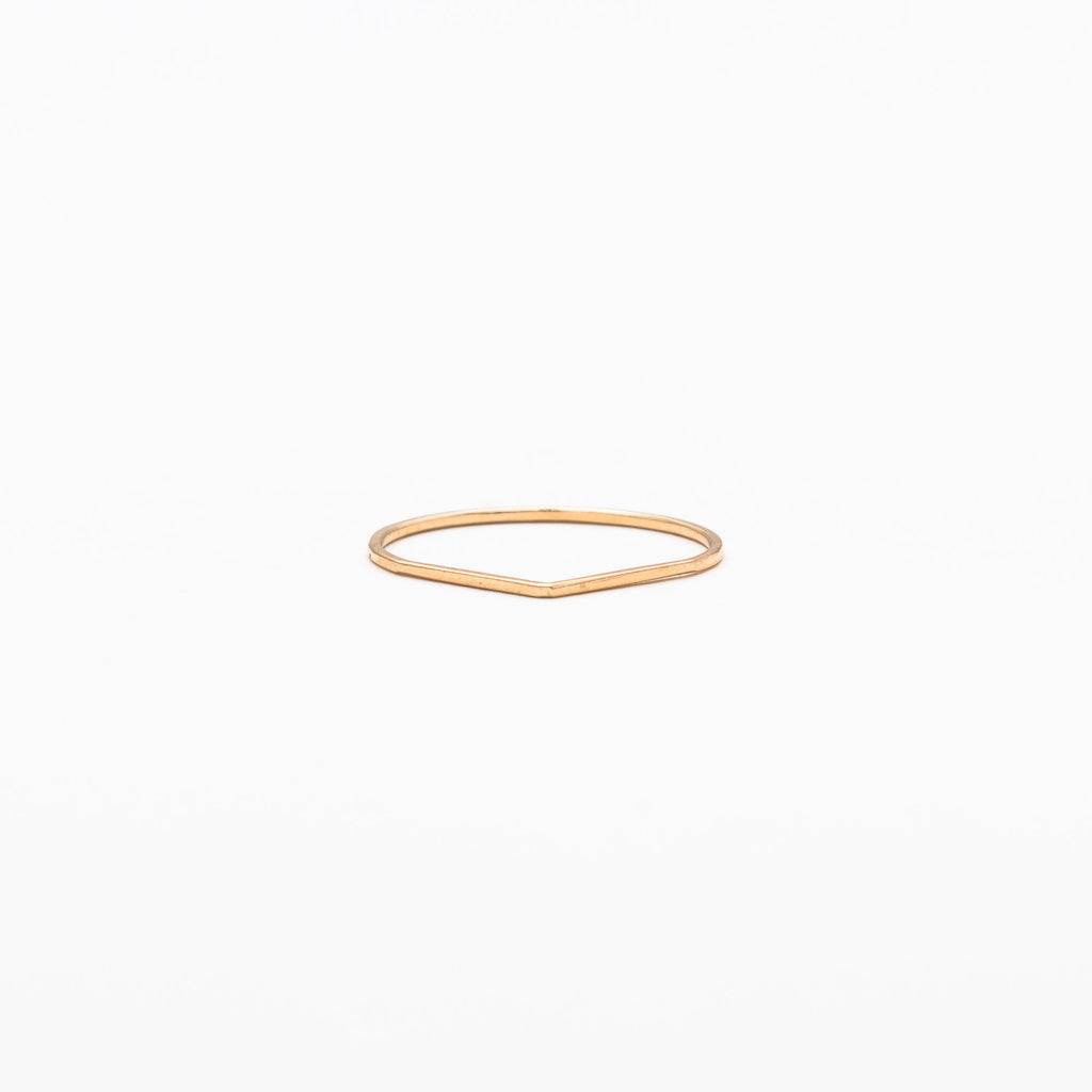 Mute Object - Plain Skinny Pointed Ring