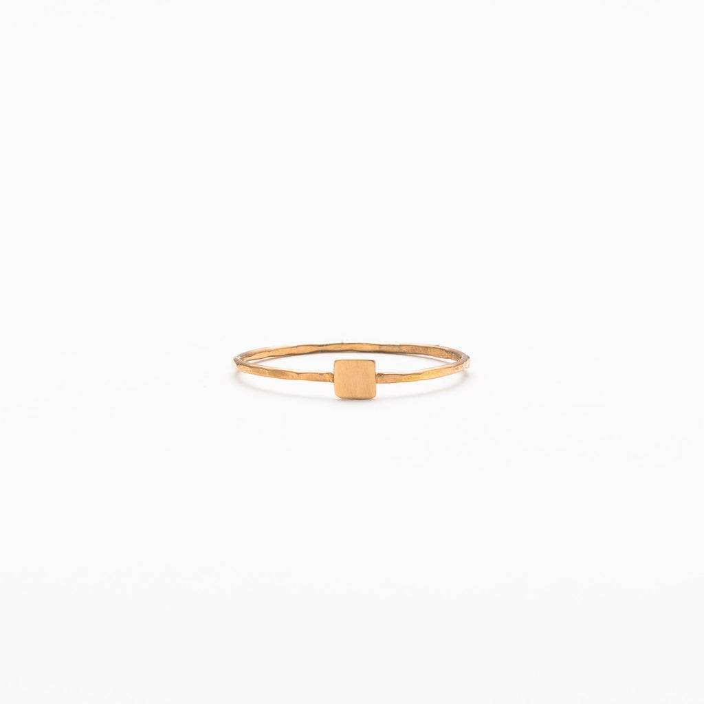 Melissa Joy Manning - Solid square ring