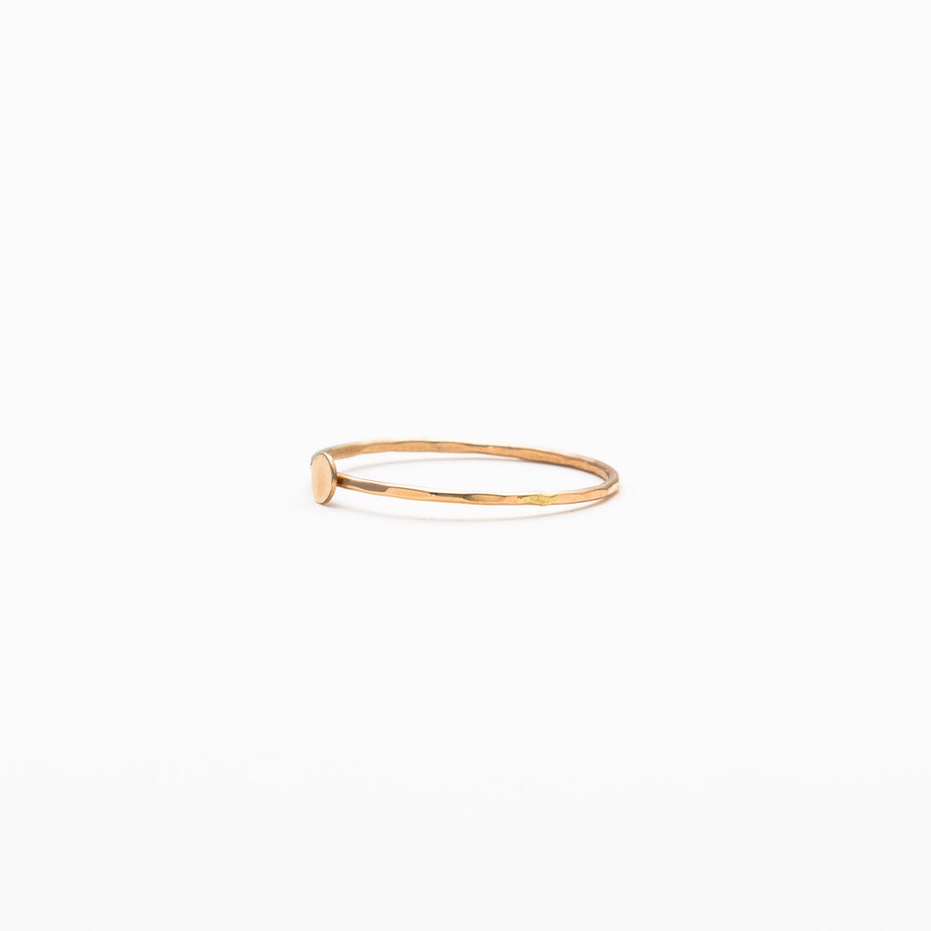 Melissa Joy Manning - Solid circle ring