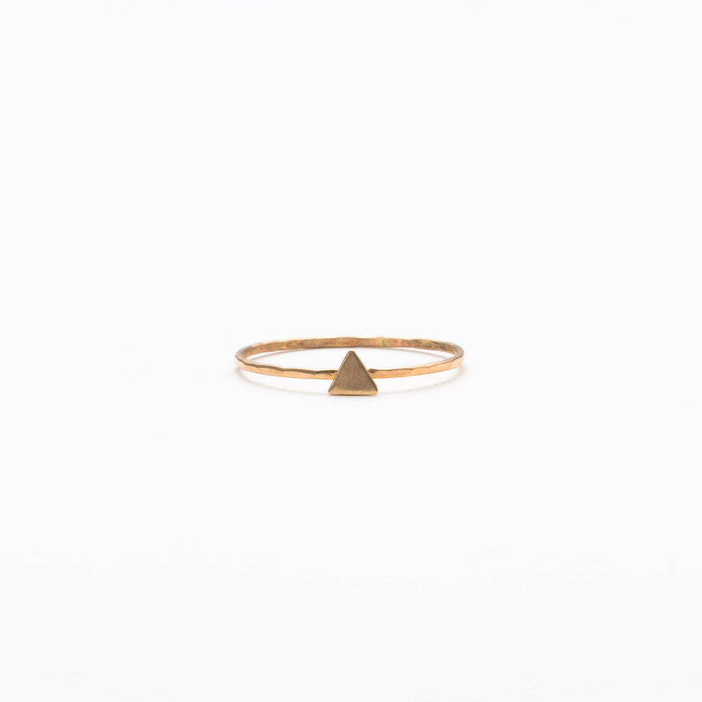 Melissa Joy Manning - Solid triangle ring