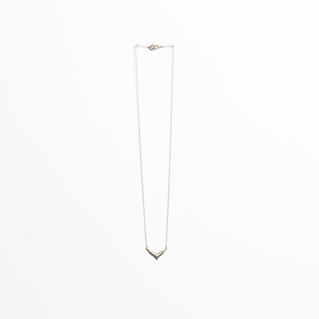 Branch Jewelry - Large fin necklace