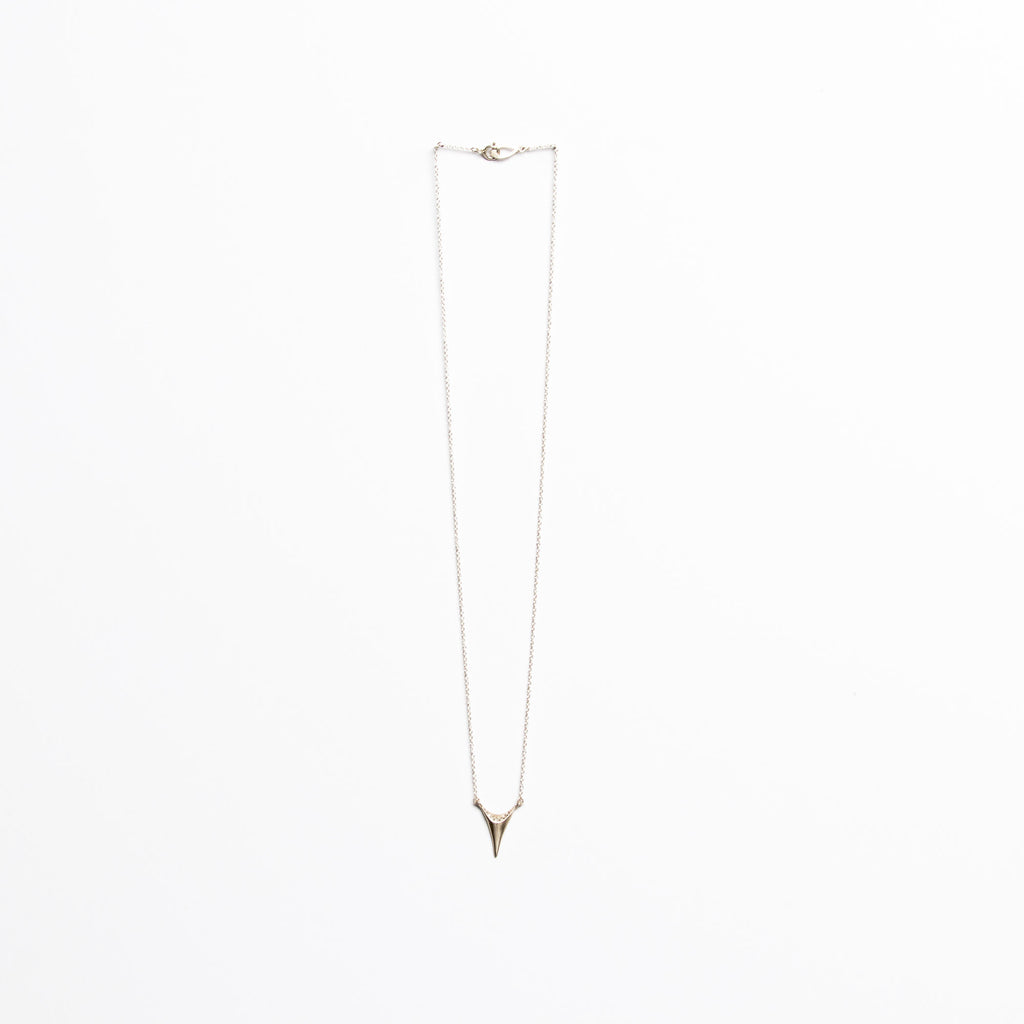 Branch Jewelry - Tooth necklace in silver