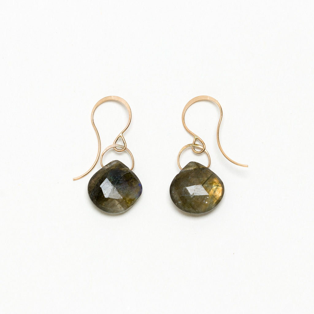 Melissa Joy Manning - Labradorite Drop Earrings