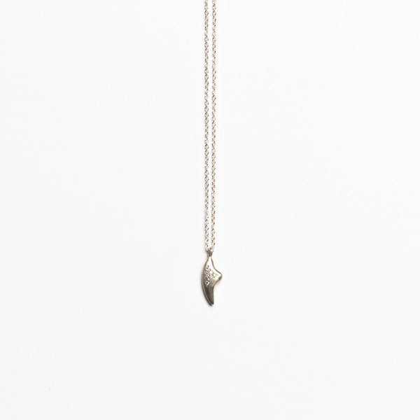 Branch Jewelry - Claw necklace with diamond